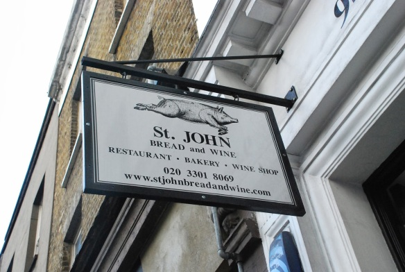 London St John restaurant2