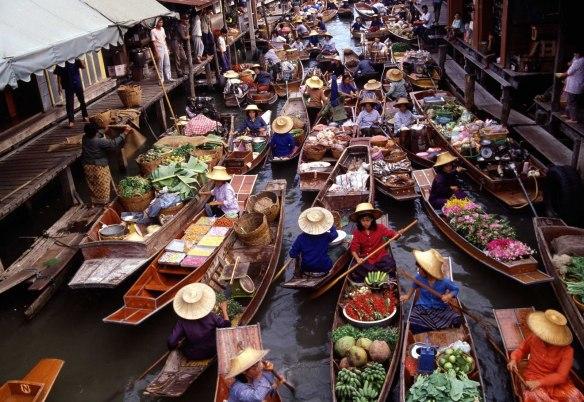 mercat flotant